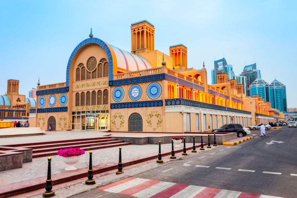 Sharjah or Fujairah - Which Emirate is Better for a Vacation - Sharjah Blue Souk | The Vacation Builder