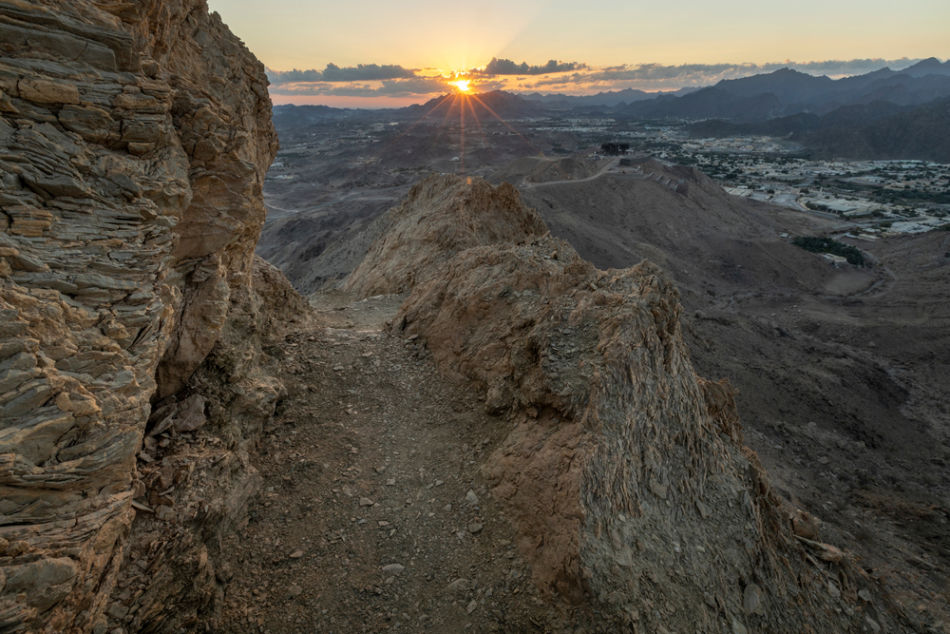 Ajman or Fujairah for a Vacation - Which Emirate Has The Best Scenery - Masfout Mountains in Ajman   The Vacation Builder