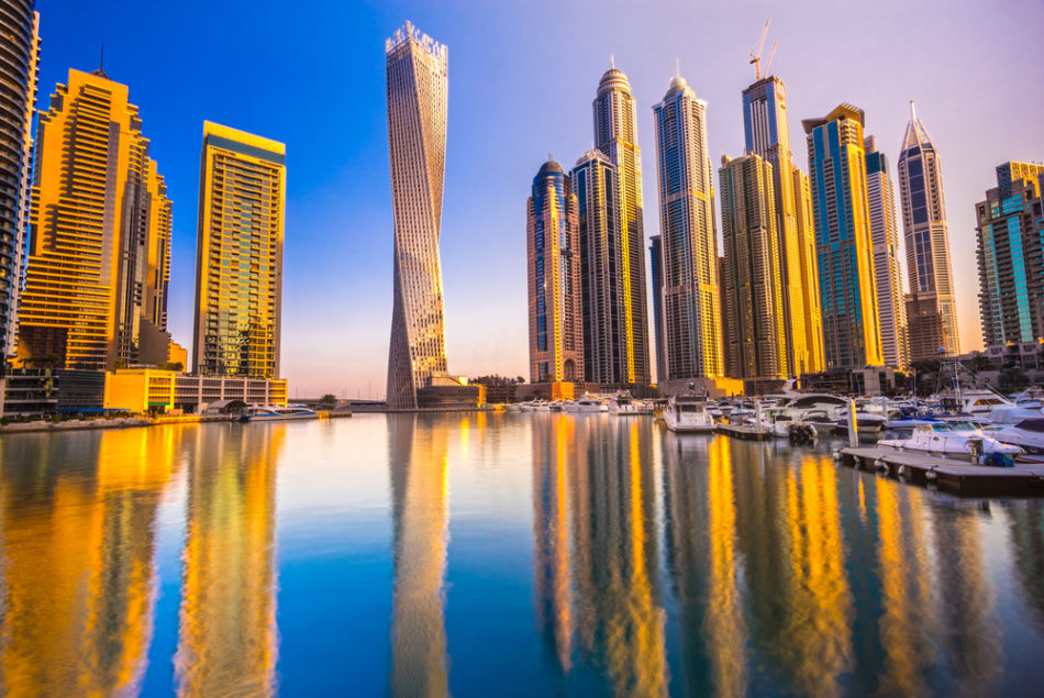 Famous Buildings in Dubai   #2 Cayan Tower   The Vacation Builder