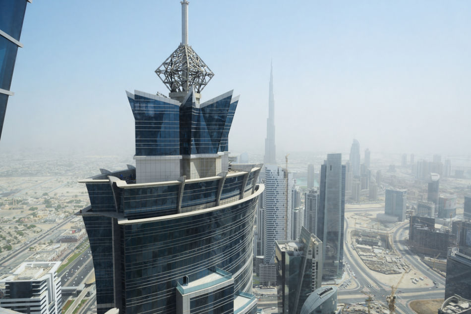 Famous Buildings in Dubai   #6 JW Marriott Marquis Hotel   The Vacation Builder